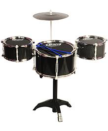 Magic Pitara Jazz Drum Set - Black