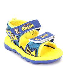 Chhota Bheem Sandals - Yellow & Blue