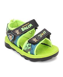 Chhota Bheem Sandals - Black & Green