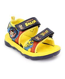 Chhota Bheem Sandals - Yellow & Navy Blue