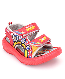Chhota Bheem Sandals - Red And Grey