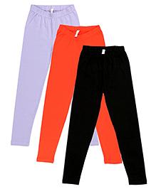 Raine And Jaine Pack Of 3 Leggings - Multicolour