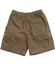 Campana Cargo Shorts- Dark Brown