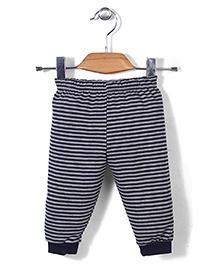 Ollypop Striped Legging - Grey And Black