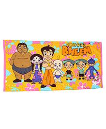 Chhota Bheem Kids Towel - Multi Color