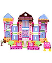 Happy Kids Warm Home Building Blocks - Multicolor