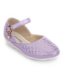 Cute Walk by Babyhug Sandals Embellished Detail - Purple