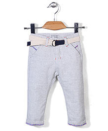 Little Denim Store Slim Fit Pant - Misty White