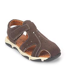 Cute Walk by Babyhug Floater Sandals - Brown