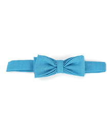 Princessories By Sachi Goenka Bow Tie - Blue