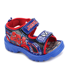 Spider Man Sandals - Red And Royal Blue