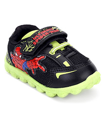 Marvel Spider Man Casual Shoes - Black Green