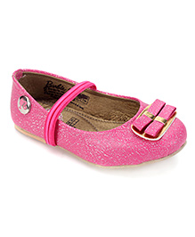 Barbie Slip-On Ballerina Shoes - Pink