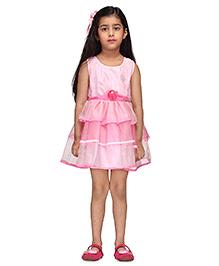 Budding Bee Elegant Party Dress - Pink