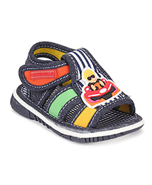 Cute Walk by Babyhug Sandals Car Motif - Navy