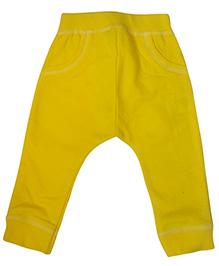 Tickles 4 U Diaper Leggings - Yellow