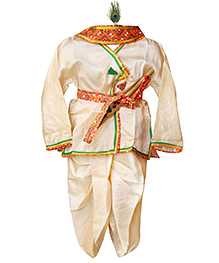 BownBee Kanhaiya Suit Set - Off White
