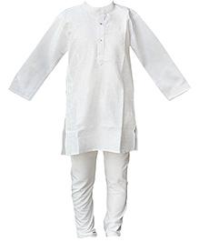 BownBee Kurta And Pyjama Set - White