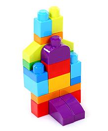 Mega Bloks First Builders 1-2-3 Count 20 Pieces - Multicolor