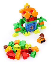 Mega Bloks First Builders Build a Dinosaur 70 Peices - Multicolor