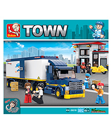 Sluban Heavy Duty Van Truck Construction Sets