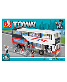 Sluban Bus Lego Construction Sets