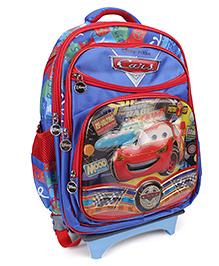 Disney Kids School Bag Trolley - Blue