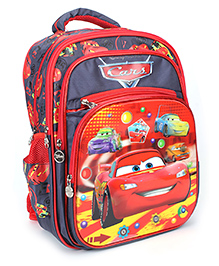 Disney Pixar Car School Bag Red Navy - 15 Inches