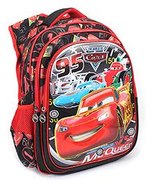 Disney Pixar Cars School Bag Black - 17 Inches