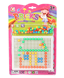 Smiles Creation Intelligence Bricks Game - Multicolor