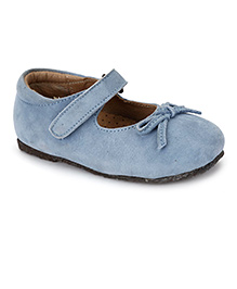 Teddy Toes Mary Jane Shoes - Light Blue