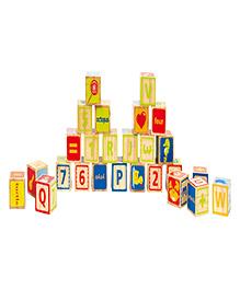 Hape ABC Blocks - Multicolor