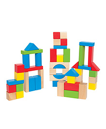 Hape Maple Blocks - Multicolor