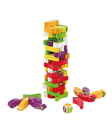 Hape Stacking Veggie Game - Multicolor