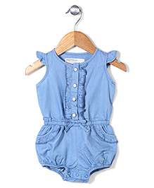 Little Denim Store Trendy Onesie - Blue