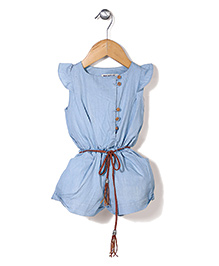 Miss Pretty Romper - Blue