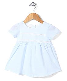 Miss Pretty Summer Dress - Aqua Blue