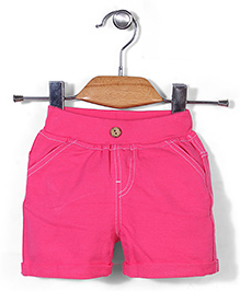 Candy Hearts Baby Shorts - Pink