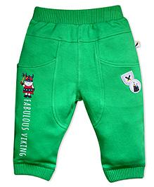 FS Mini Klub Track Pants Patch Work- Green