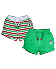 FS Mini Klub Shorts Set Of 2 - Multi Color