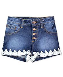 FS Mini Klub Denim Shorts - Blue