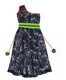 Kids Chakra Cute Party Jumper - Grey