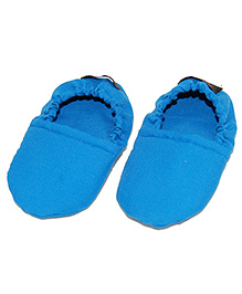 SnugOns Cotton Booties - Blue