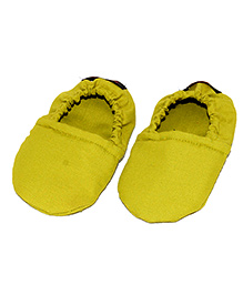 SnugOns Cotton Booties - Yellow