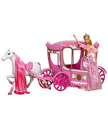 Steffi Love Fairytale Romantic Carriage - Pink