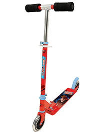 Smoby Man Of Steel Scooter 2 Wheel - Red And Blue