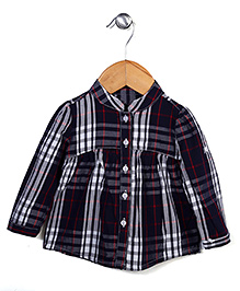 Miss Pretty Smart Check Shirt - Multicolor