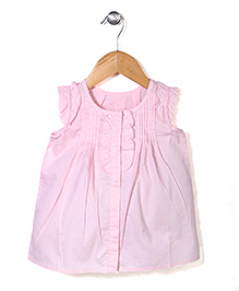 Miss Pretty Lovely Sleeveless Top - Pink