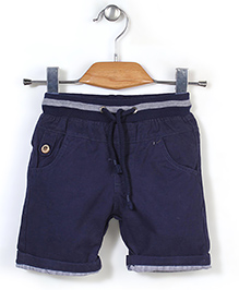 Quick Seven Casual Shorts - Navy Blue