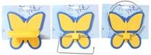 Butterfly Pattern Bathroom Accessory Set